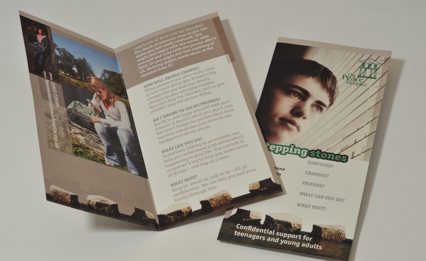 Peace Hospice Care information leaflet
